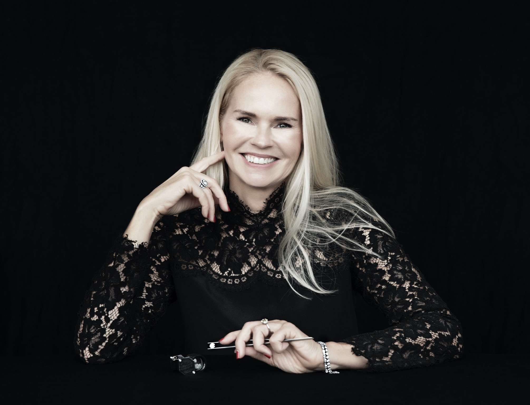 Diamond expert Trine Lamm