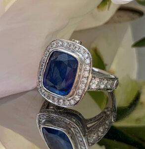 Diamond ring custom design